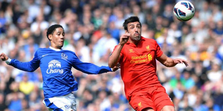 Everton bleibt Nummer 1 in Liverpool