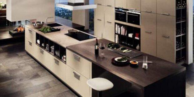 Grüne Küchen-Technik