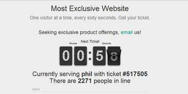 Mysteriöse Website sorgt für Mega-Hype