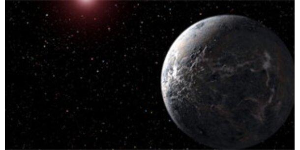 Forscher erspähen kleinsten Planeten