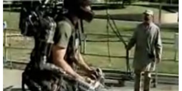"Exoskelett verwandelt Rekruten in ""Super-Soldaten"""