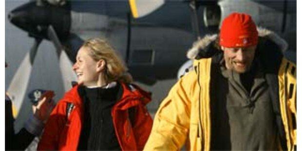 Schiffbrüchige heirateten unter Todesangst in Antarktis