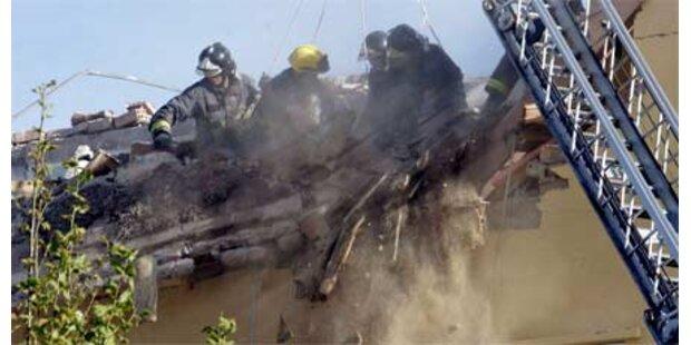 Zwei Tote nach Gas-Explosion nahe Rom