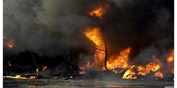 Heftige Gasexplosion in Kohlegrube in China