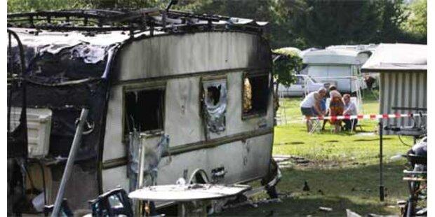 Gasexplosion auf Schweizer Campingplatz