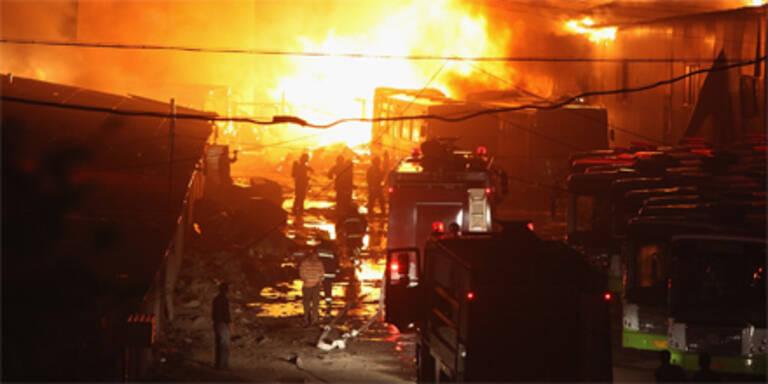 Explosionen erschüttern Stadt in China