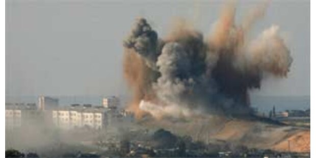 Israel setzt erstmals Artillerie ein