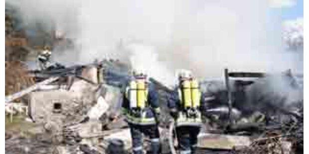 Leiche in zerstörtem Tiroler Haus entdeckt