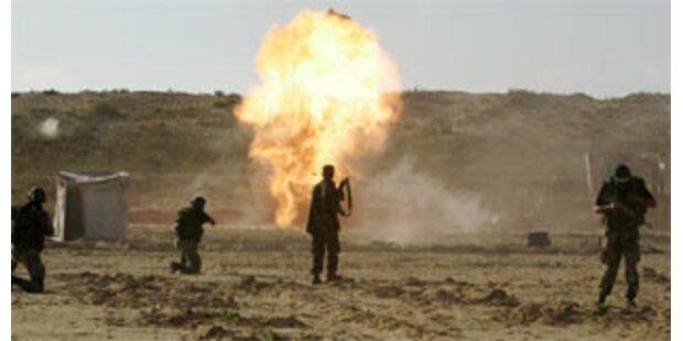 Explosion in Ausbildungslager der Hamas
