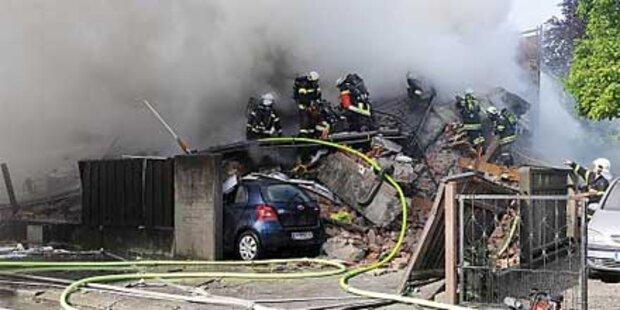 Gasexplosion: Drei Tote geborgen