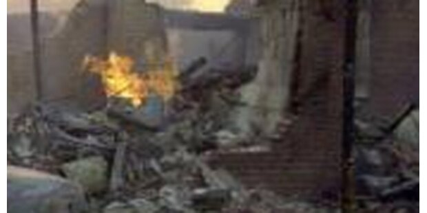 Illegale Feuerwerksfabrik fliegt in die Luft