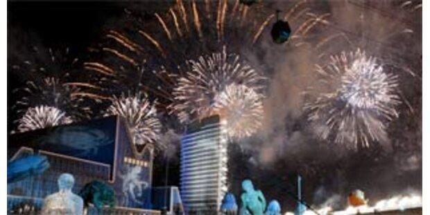Expo 2008 in Saragossa feierlich eröffnet