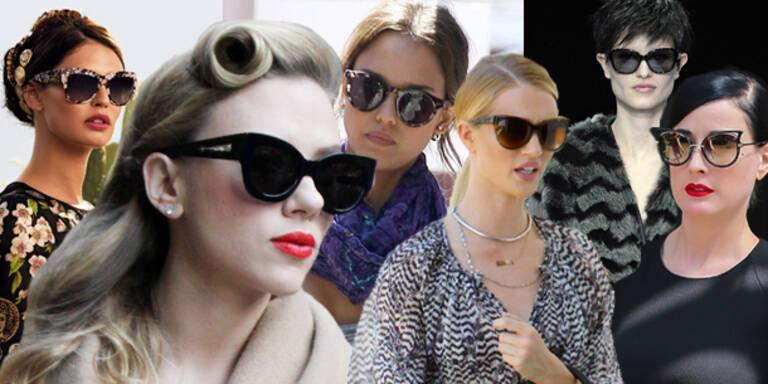 Cat Eyes-Sonnenbrillen: Die Trendmodelle 2014
