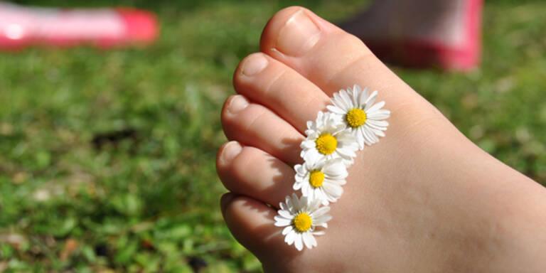 So verwöhnen Sie Ihre Füße richtig