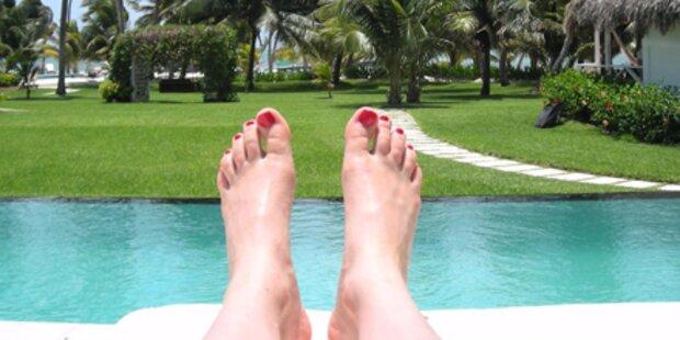 So schützen Sie sich vor Fußpilz