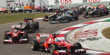 Alonso gewann China-GP vor Räikkönen