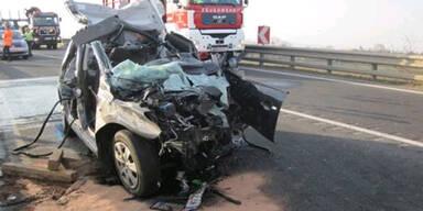 Tödlicher Crash auf der S4