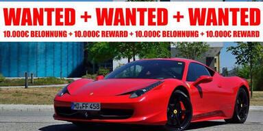 200.000 € Ferrari von Autovermieter geklaut