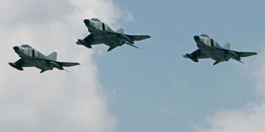 Türkischer F4-Kampfjet