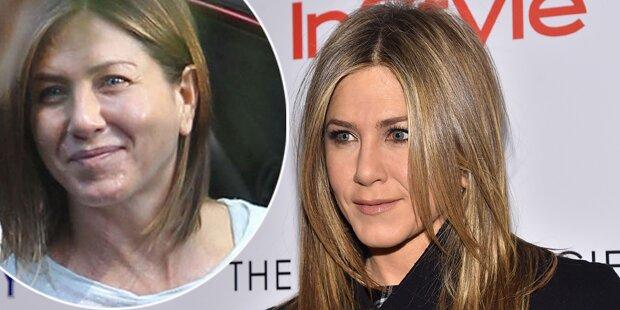 Aniston: Kuchen mampfen für Oscar