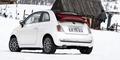 Österreich-Premiere für das schicke City-Cabrio. Bild: Fiat