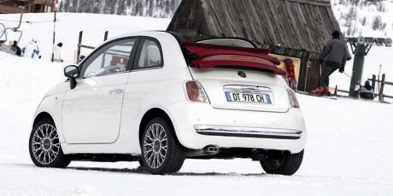 Nun startet der Fiat 500