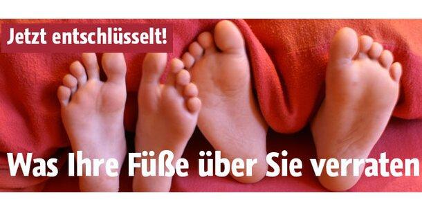 Was Ihre Füße und Hände über Sie verraten