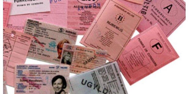 Führerschein in Sbg selbst hergestellt