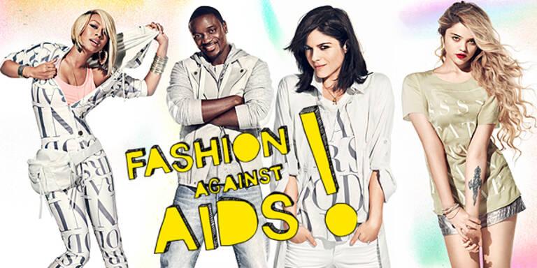 Stars für 'Fashion against AIDS'