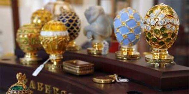Einbrecher erbeuten sündteures Faberge-Ei