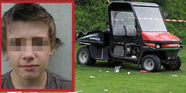 14-jähriger Fabio starb bei Caddy-Unfall