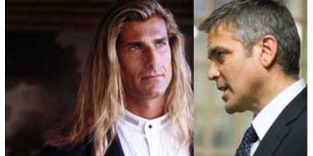 Aufbrausender Clooney griff Model in Restaurant an
