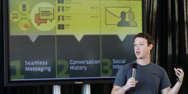 Facebook startet eigenen E-Mail-Dienst
