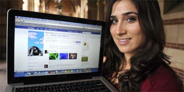 Facebook: Österreichs Jugend sehr aktiv