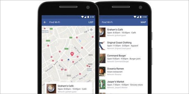 Facebook-App mit neuer Top-Funktion