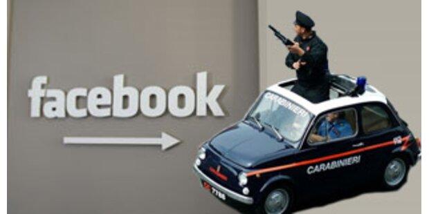Facebook im Visier der italienischen Behörden