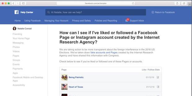 Facebook entwickelt Propaganda-Check