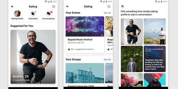 Facebook startet seinen Tinder-Gegner