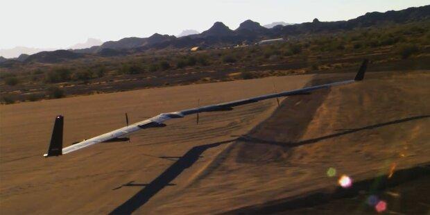 Facebooks Riesen-Drohne erfolgreich getestet