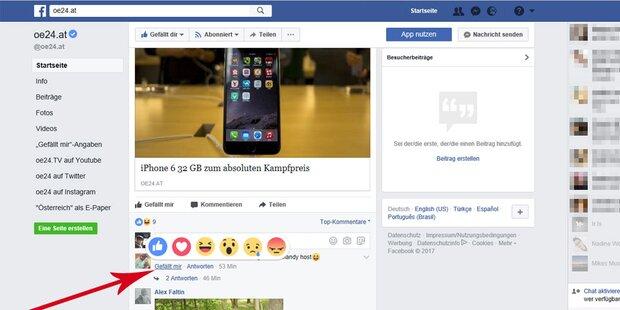 Facebook weitet seinen Like-Button aus