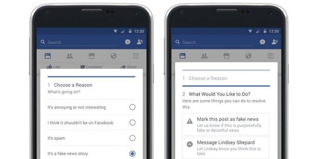 Facebook geht gegen Fake-News vor