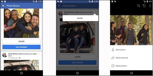 Facebook startet Gesichtserkennung