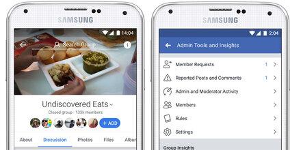 Facebook baut Gruppen massiv aus