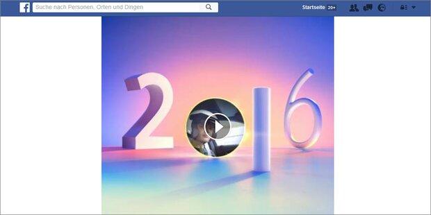 Mega-Betrug mit Facebook Jahresrückblick