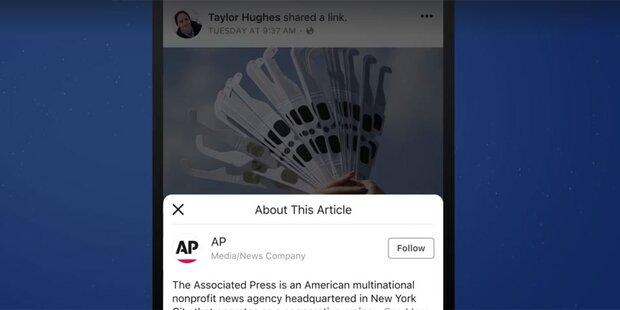 Facebook testet neuen