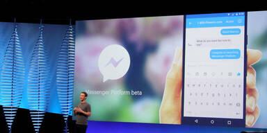 Facebook-Messenger attackiert WhatsApp