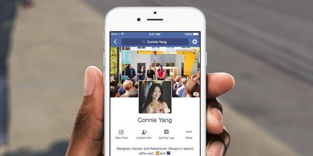 Facebook fordert klares Foto vom Gesicht
