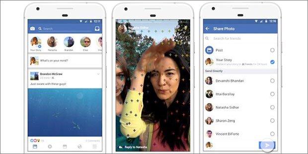 Facebook-App wird völlig neu