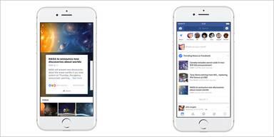 Facebook startet mit neuem Design durch
