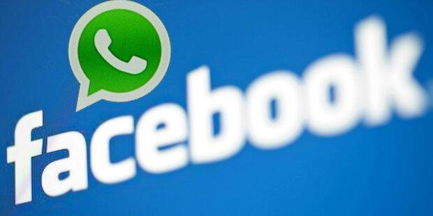 Facebook droht Strafe wegen WhatsApp